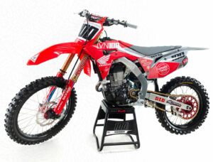 Josh Hansen CRF450R 2020 Graues MX Dekor